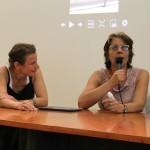 Lançamento e Mesa Redonda Paço das Artes. Rachel Rosalen e Laurita Salles.