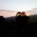 amanhecer na fazenda